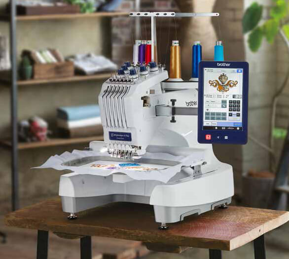 Brodeuse professionnelle Brother PR670e